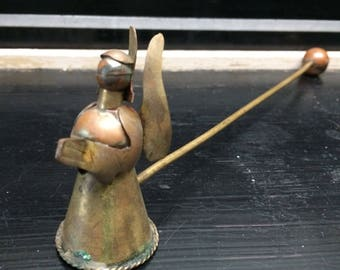Vintage Candle Snuffer - Angel Candle Snuffer - Christmas Candle Snuffer - Metal Candle Snuffer