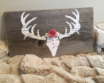 Pink stag pallet