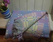 Vintage Welsh Blanket - L...
