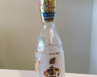 Vintage Arrow Vodka Bottle from Detroit, Mi