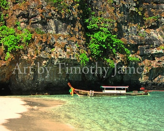 Thai Long Boat of Phi Phi Le Island