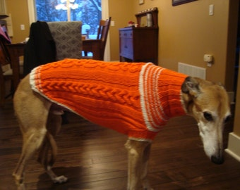 Whippet sweater pattern, PDF file ONLY!