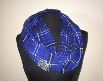 Repurposed/Up-cycled Orlando Magic Infinity Scarf (With Hidden Pocket)