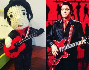 Elvis Presley Crochet doll