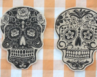 Dia De Los Muertos Patches - You Choose