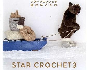 STAR CROCHET ITEMS 3 - Japanese Craft Book