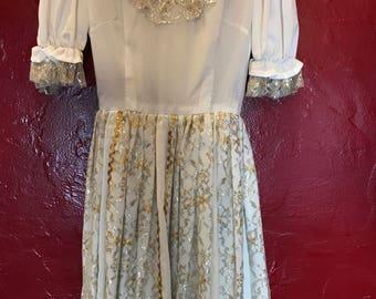 1950's Square Dance Fiesta Patio Rockabilly Southwest Style Vintage  dress