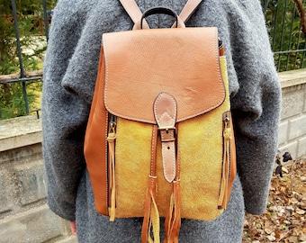 women's backpack,girl leather bag,genuine leather backpack,handmade bag leather,woman leather backpack,girl backpack,real leather backpack
