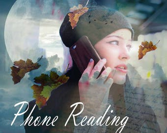 A 2 option, 20min phone tarot reading UK only - One question, as many cards as it takes and in depth answer and messages from Spirit.