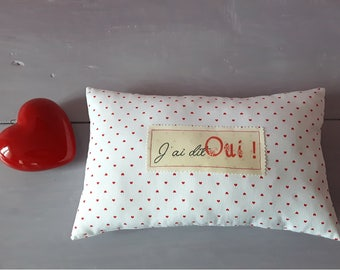 Pillow, decorative pillow, cushion message, gift idea