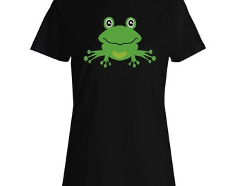 Princess Frog Ladies T-shirt t277f