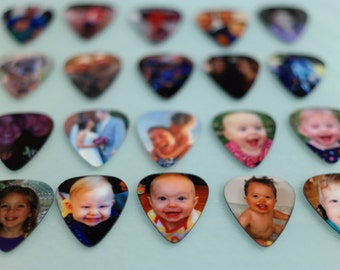 Photo Guitar Pick, Custom Guitar Pick, Mens Gift Ideas, Gift for Boyfriend, Guitar Gifts, Personalized Guitar Pick