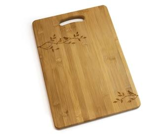 Bamboo Chopping Board - Three Little Birds