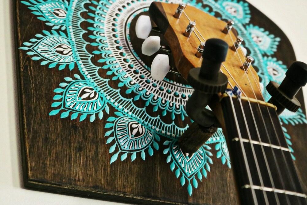 Guitar Holder Guitar Gift Boho Home Decor Instrument