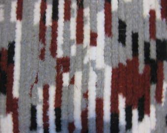 Beautiful Loomed Soft Runner rag rug