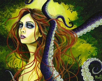 RW2 Limited Edition Signed Numbered Mermaid Print