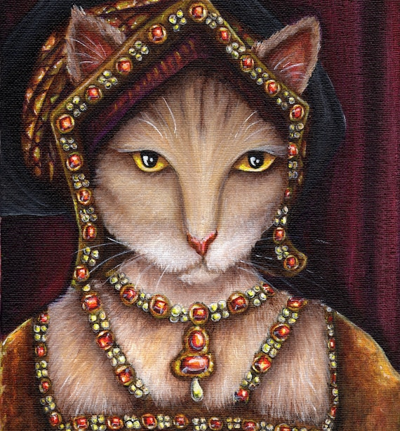 Jane Seymour Cat 8x10 Fine Art Print