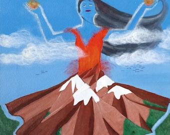 Mountain Goddess