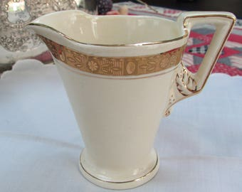 Burleigh Creamer - from England - Art Deco