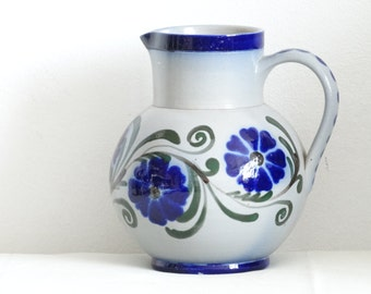 Vintage Ceramic Water Pitcher