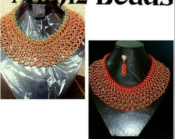 Made in different colors and sizes. Light in weight. Made to fit the neck properly.
