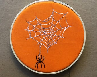 Spiderweb Embroidery