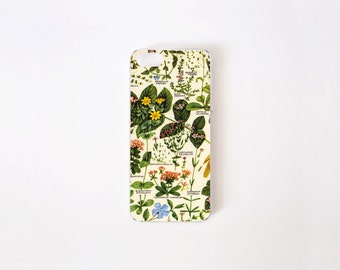 Floral iPhone SE Case - Botanical iPhone 5 Case - iPhone 5/5s Case - iPhone 4/4s Case - Vintage Botanical Print iPhone Case