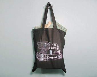 Love Your Librarian Reusable Tote