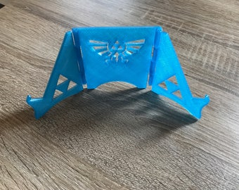 Black switch zelda triforce 3d stand