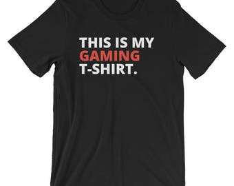 Men's This is my Gaming T-Shirt | Gifts for him | PlayStation | PS4 | Xbox | Xbox One | Online gaming | PC | Computer gaming | Nintendo