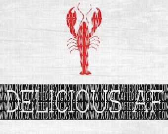 Crawfish Svg Cut File - Crawfish Boil Svg Cut File - Delicious AF Svg Cut File - Louisiana Svg Cut File - New Orleans Svg Cut File