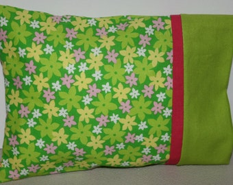 """Pillowcase and Pillow for Doll  Size 8 1/2"""" X 6 1/2 """""""