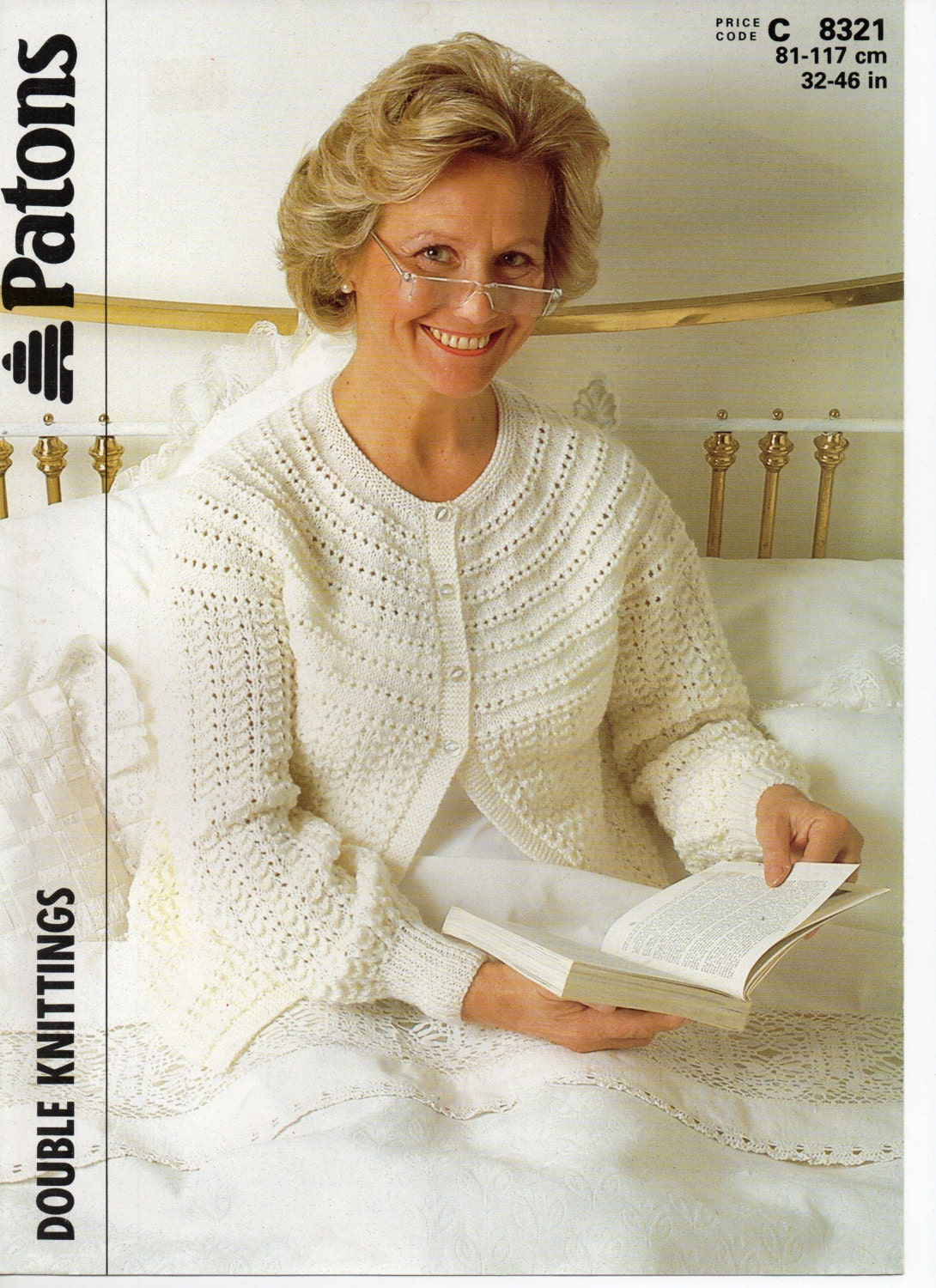 womens bedjacket knitting pattern ladies bed jacket lacy bed