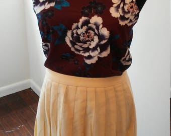 On Sale Yellow fall Summer spring floor length skirt