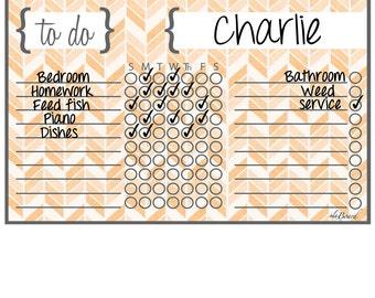 Chore Charts for Children