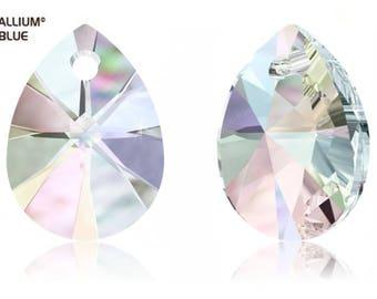 Swarovski 6128 - XILION Mini Pear Crystal Pendant