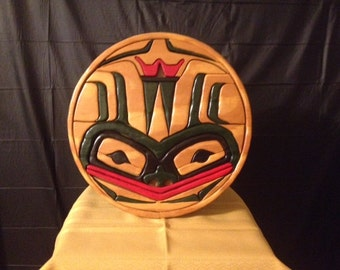 Authentic First Nations Haida Carving ~ RARE