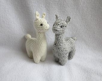 CROCHET PATTERN: Alpaca Amigurumi Plush