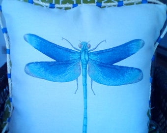 Dragonfly Tapestry pillow
