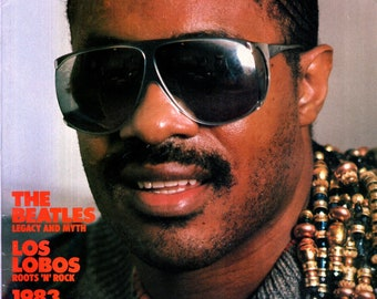 Record Magazine March 1984 Issue Stevie Wonder Cover