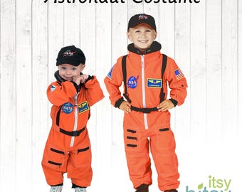 Astronaut Halloween Kids Costume Kids Personalized Astronaut Outfit Kids Dress Up Career Day Costume Space Suit Halloween Costume kids gift  sc 1 st  Etsy & Astronaut costume | Etsy