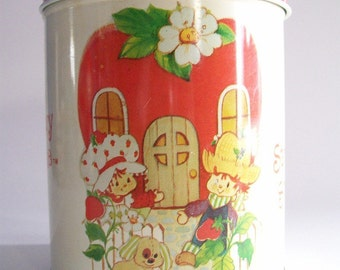 1980's Strawberry Shortcake and Friends Tin