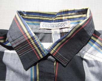 Vintage Colorados Snap Front Shirt circa the 80's