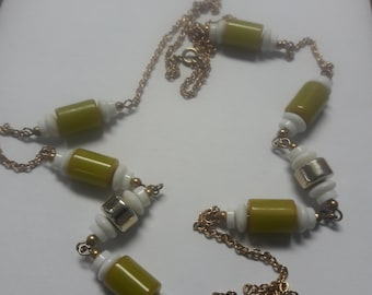 Bakelite Necklace 33 Inches In Length