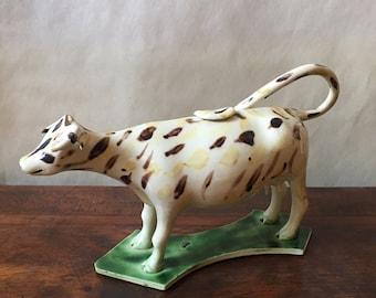 Antique Staffordshire Cow Creamer 18th Century