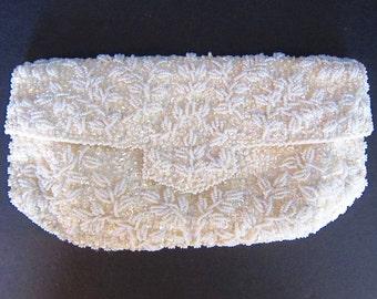 Beaded Evening Bag Clutch Bridal