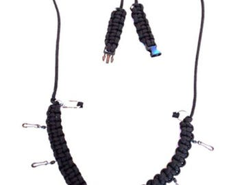 Fly Fishing Paracord Neck Lanyard – Various Colours