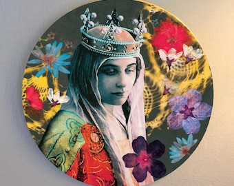 Princess (Red) Wall Plaque