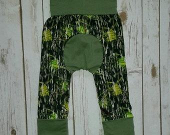 Maxaloones,Grow With Me Pants,Camo Baby Leggings. Baby leggings,baby pants,baby boy maxaloons,green maxaloones