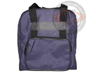 Blue bag for serger - serger storage cover